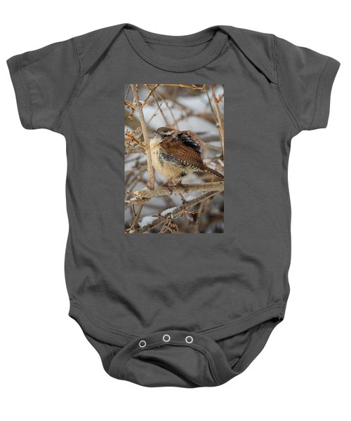 Grumpy Bird Baby Onesie by Bill Wakeley