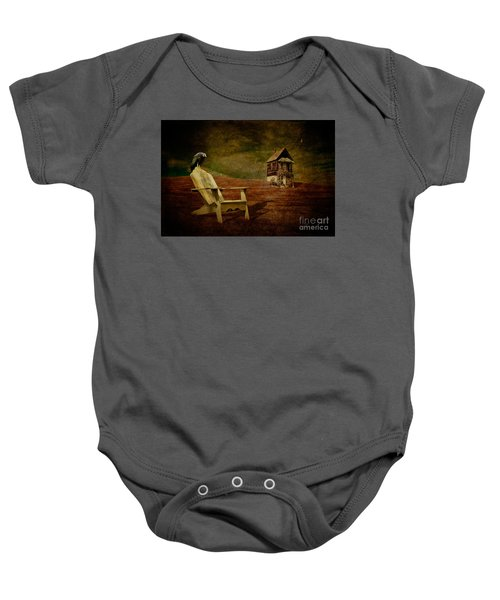 Hard Times Baby Onesie by Lois Bryan