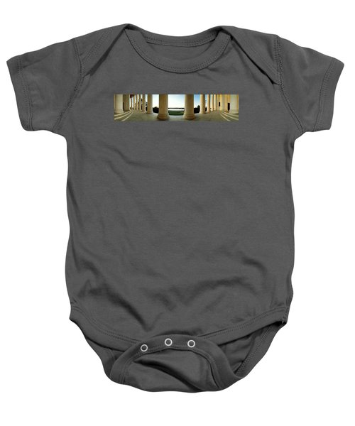 Jefferson Memorial Washington Dc Baby Onesie by Panoramic Images
