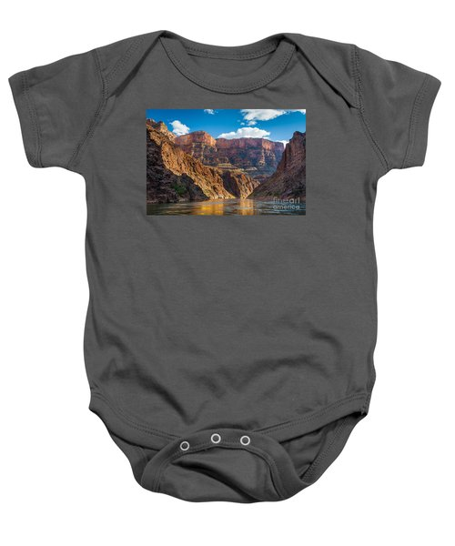 Journey Through The Grand Canyon Baby Onesie by Inge Johnsson