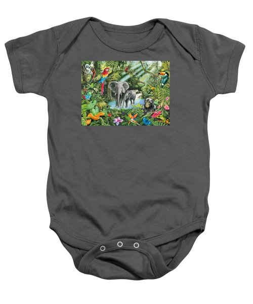 Jungle Baby Onesie by Mark Gregory