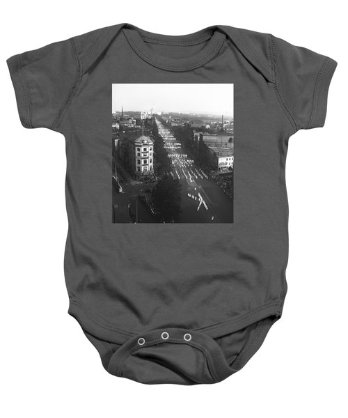 Ku Klux Klan Parade Baby Onesie by Underwood Archives