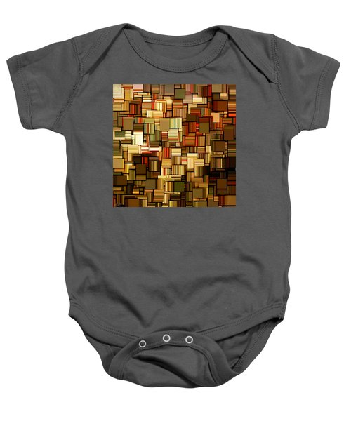 Modern Abstract Xxiii Baby Onesie by Lourry Legarde
