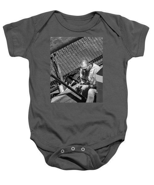 Moment Of Reflection Baby Onesie by Tom Gort