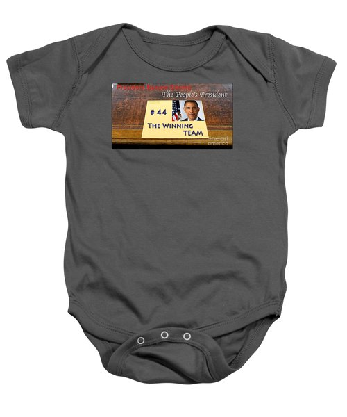 Number 44 - The Winning Team Baby Onesie by Terry Wallace
