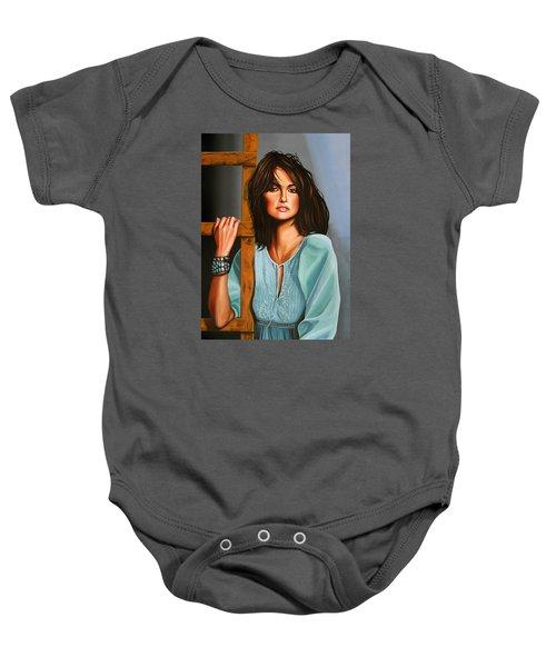 Penelope Cruz Baby Onesie by Paul Meijering
