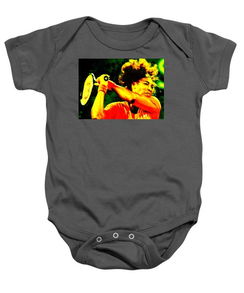 Serena Williams In A Zone Baby Onesie by Brian Reaves