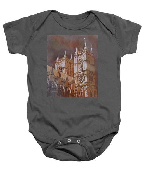 Shining Out Of The Rain Baby Onesie by Jenny Armitage