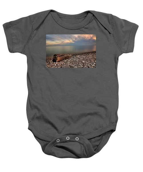 Stone Beach Baby Onesie by James Dean