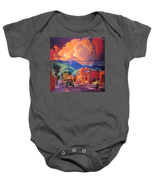 Taos Inn Monsoon Baby Onesie by Art James West