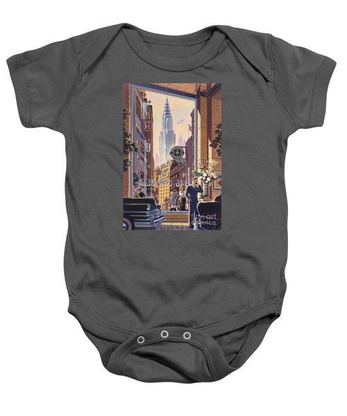 The Chrysler Baby Onesie by Michael Young