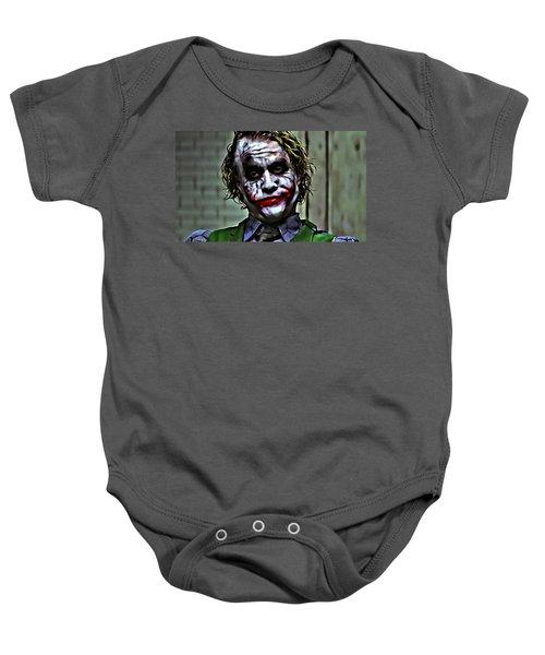 The Joker Baby Onesie by Florian Rodarte