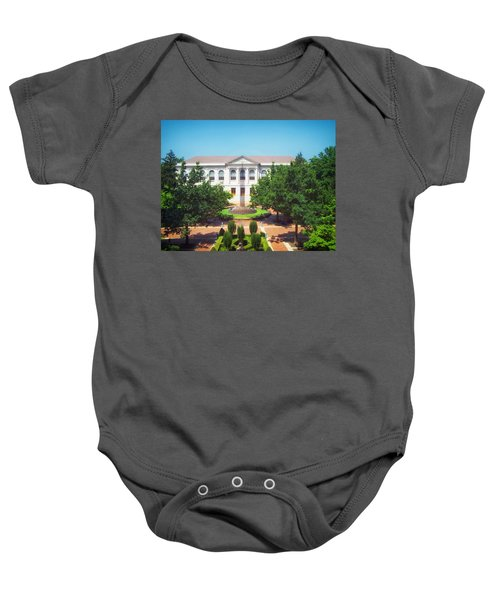 The Old Main - University Of Arkansas Baby Onesie by Mountain Dreams