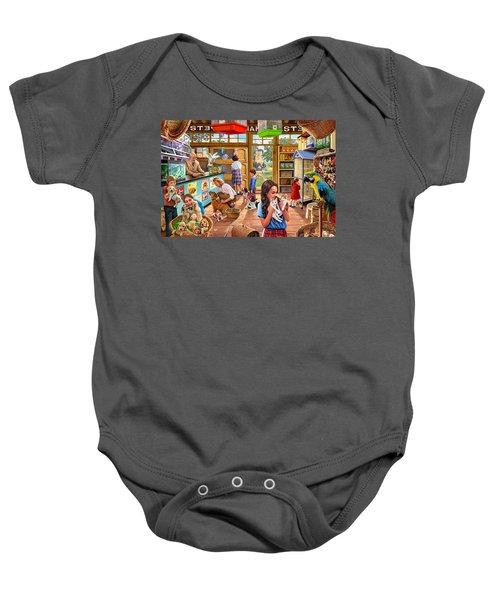 The Pet Shop Baby Onesie by Steve Crisp