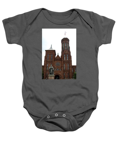 The Smithsonian - Washington Dc Baby Onesie by Christiane Schulze Art And Photography