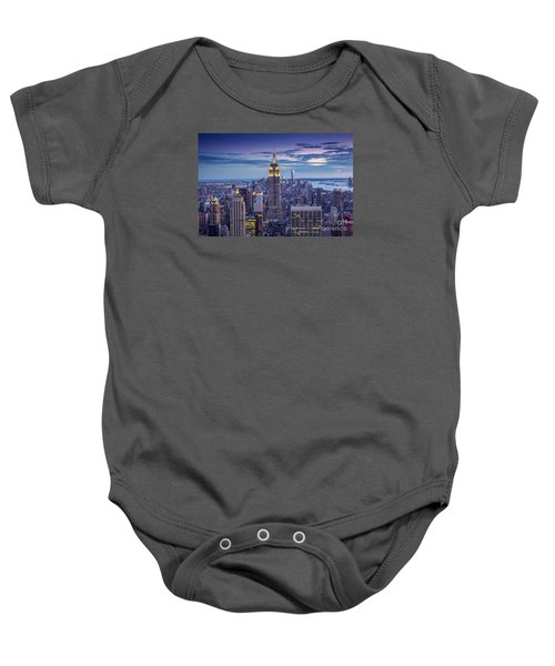 Top Of The World Baby Onesie by Marco Crupi