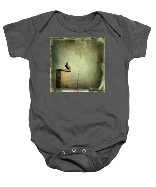 Turkey Vulture Baby Onesie by Gothicolors Donna