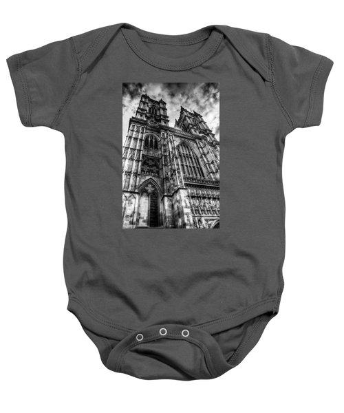 Westminster Abbey London Baby Onesie by David Pyatt