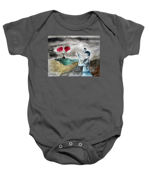 Scott Weiland - Stone Temple Pilots - Music Inspiration Series Baby Onesie by Carol Crisafi