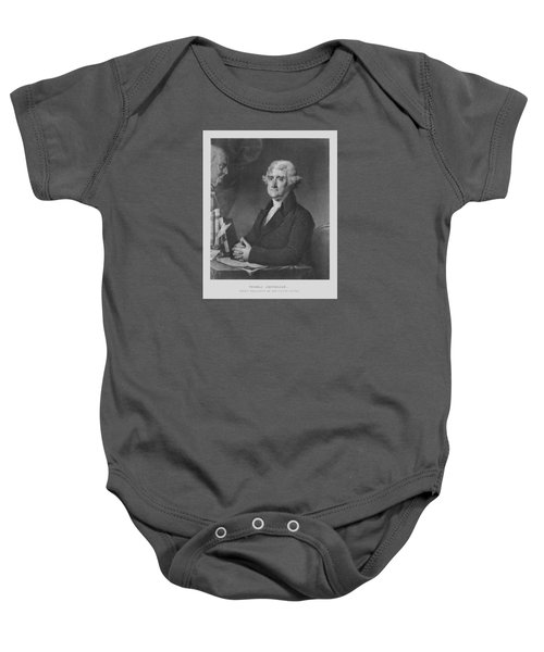 Thomas Jefferson Baby Onesie by War Is Hell Store
