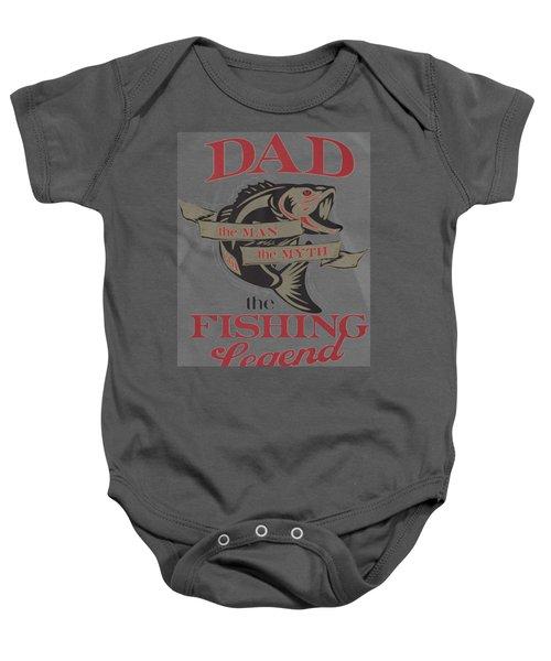Fishing Baby Onesie by Thucidol
