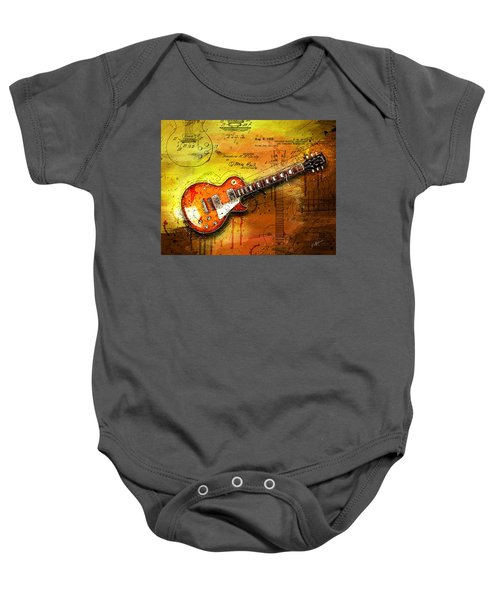 55 Sunburst Baby Onesie by Gary Bodnar