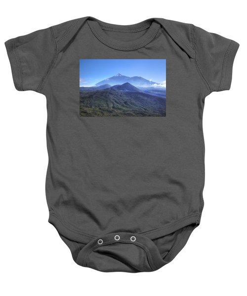 Tenerife - Mount Teide Baby Onesie by Joana Kruse