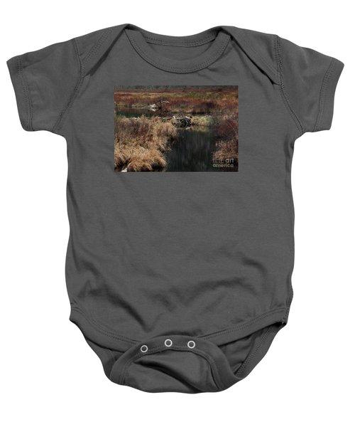A Beaver's Work Baby Onesie by Skip Willits