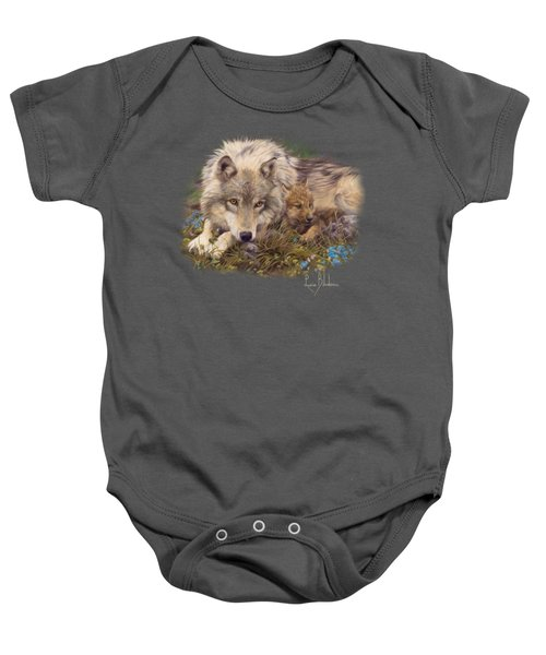 In A Safe Place Baby Onesie by Lucie Bilodeau