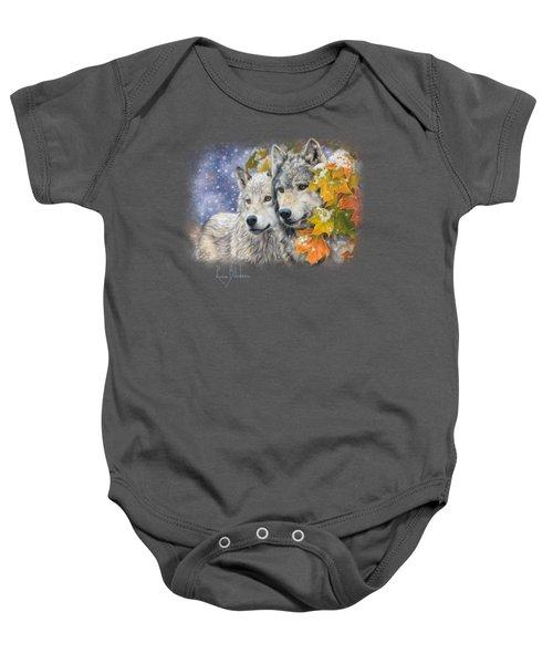 Early Snowfall Baby Onesie by Lucie Bilodeau