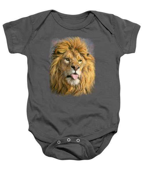 Silly Face Baby Onesie by Lucie Bilodeau