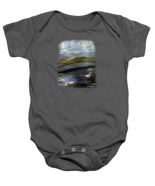 The Wishing Pond  Baby Onesie by Susan  Rossell