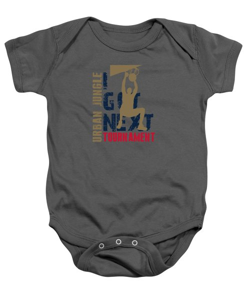 Basketball I Got Next 4 Baby Onesie by Joe Hamilton