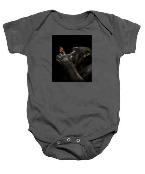 Beauty And The Beast Baby Onesie by Paul Neville