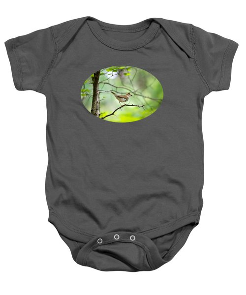Beauty Of The Spring Forest Baby Onesie by Christina Rollo