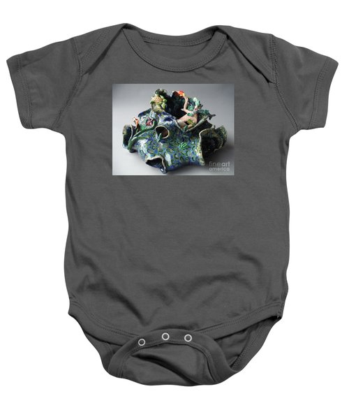 Bin Laden Became Fish Food Baby Onesie by Paddy Shaffer