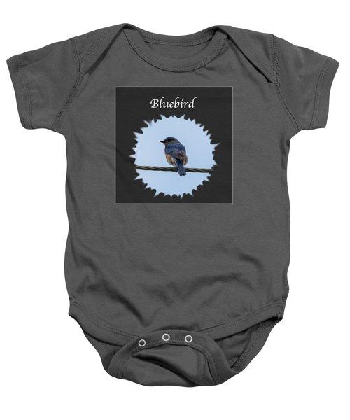 Bluebird Baby Onesie by Jan M Holden
