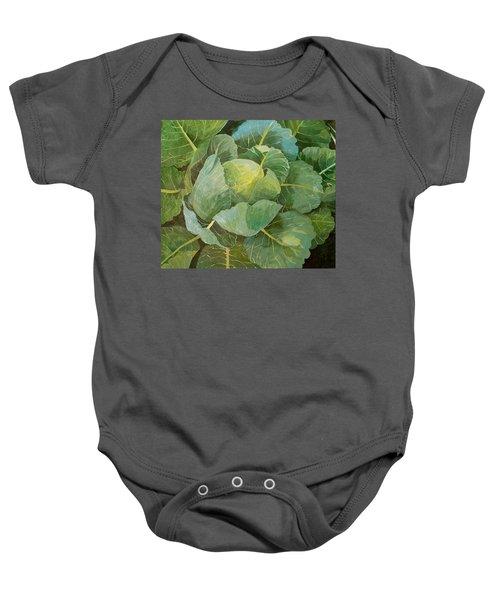Cabbage Baby Onesie by Jennifer Abbot