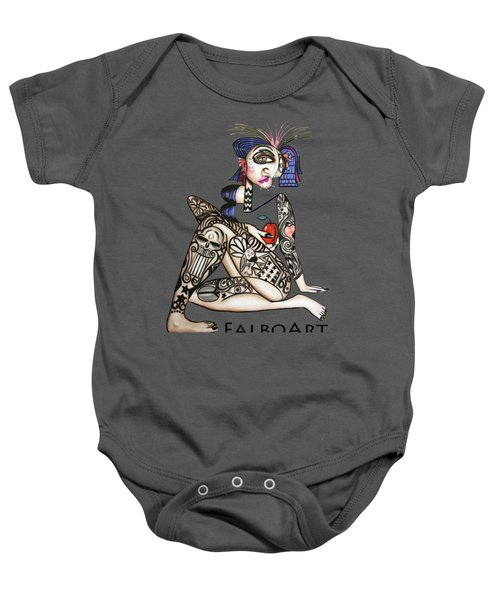 Can You See Me Know Baby Onesie by Anthony Falbo