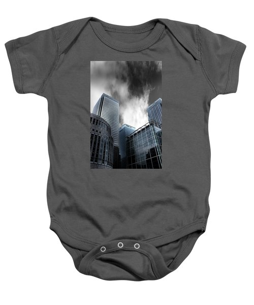 Canary Wharf Baby Onesie by Martin Newman