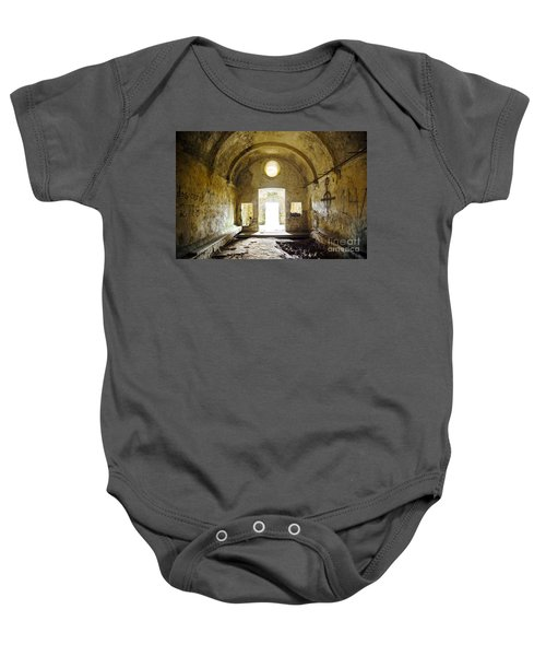 Church Ruin Baby Onesie by Carlos Caetano