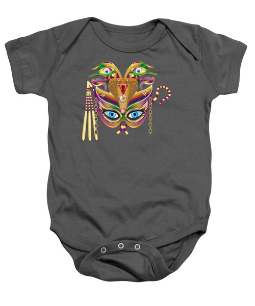 Cleopatra Viii For Any Color Products But No Prints Baby Onesie by Bill Campitelle