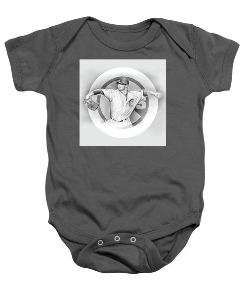 Cubs 2016 Baby Onesie by Greg Joens