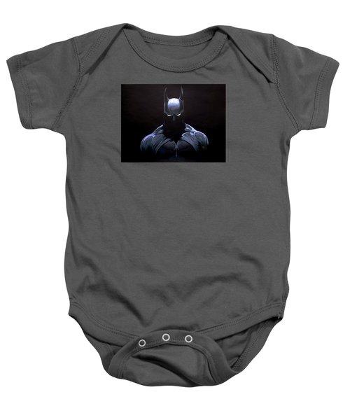Dark Knight Baby Onesie by Marcus Quinn