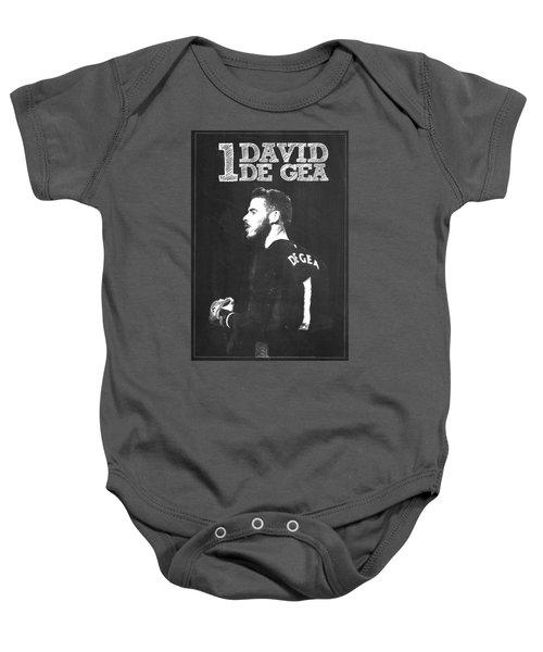 David De Gea Baby Onesie by Semih Yurdabak