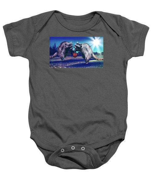 Defense Baby Onesie by Jonny Lindner