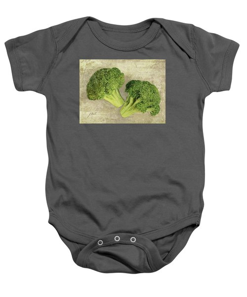 Due Broccoletti Baby Onesie by Guido Borelli