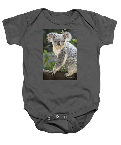 Female Koala Baby Onesie by Jamie Pham