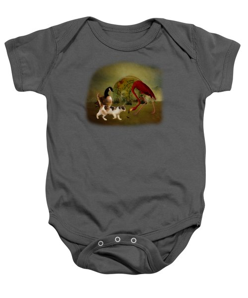 Global Initiative Baby Onesie by Terry Fleckney