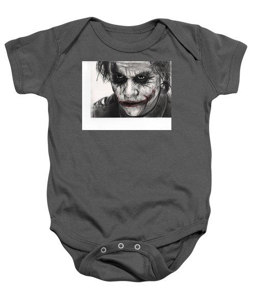 Joker Face Baby Onesie by James Holko